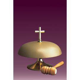 Gong kościelny jednotonowy, matowy - średnica 25 cm.