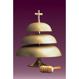 Gong kościelny trójtonowy, matowy