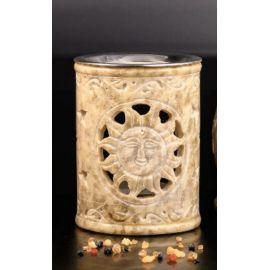Kadzielnica domowa - kamień mydlany - 10 cm