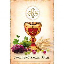 Plakat – Uroczystość Komunii Świętej