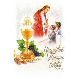 Plakat – Uroczystość I Komunii Świętej