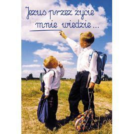 Plakat – Jezus przez życie mnie wiedzie