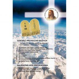 Plakat – Dziesięć przykazań Bożych