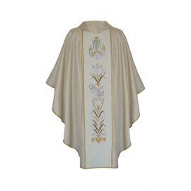 Ornat haftowany Maryjny złoty (24)