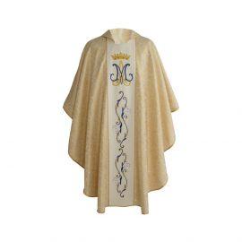 Ornat haftowany Maryjny złoty (25)