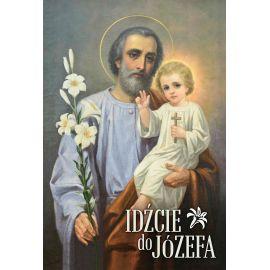 Plakat – św. Józef (Idźcie do Józefa)