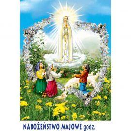 Plakat – Nabożeństwo majowe (2)