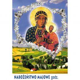 Plakat – Nabożeństwo majowe (3)