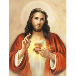 Obraz 30x40 - Serce Jezusa