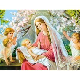 Obraz 30x40 - Maryia z dzieciątkiem