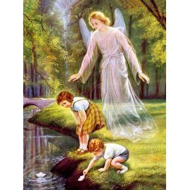 Obraz 30x40 - Anioł Stróż