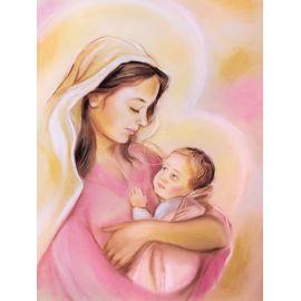Obraz 30x40 - Matka Boża