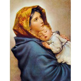 Obraz 30x40 - Matka Boża Cygańska