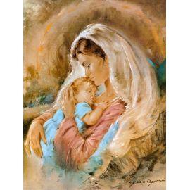 Obraz 30x40 - Matka Boża Karmiąca (2)