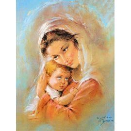 Obraz 30x40 - Matka Boża Karmiąca