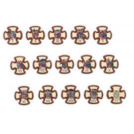Stacje drogi krzyżowej 9,5 x 9,5 cm (1)