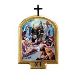 Stacje drogi krzyżowej 20,5 x 13,5  cm (3)