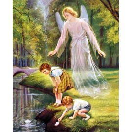 Obrazek 20x25 - Anioł Stróż (1)