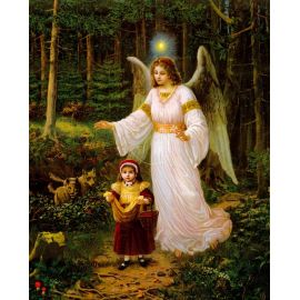 Obrazek 20x25 - Anioł Stróż (5)