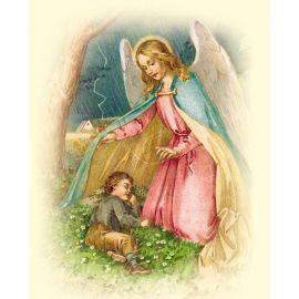Obrazek 20x25 - Anioł Stróż (6)