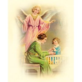 Obrazek 20x25 - Anioł Stróż (7)