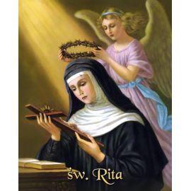 Obrazek 20x25 - Św. Rita