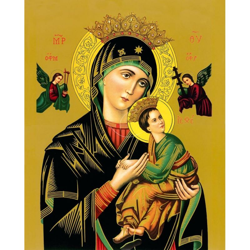 Obrazek 20x25 - Matka Boża Nieustającej Pomocy