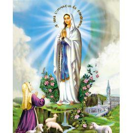 """Obrazek 20x25 - Lourdes """"Je suis l'Immaculée Conception"""""""