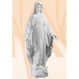 Figura Matka Boża Niepokalana biała - 105 cm