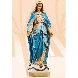 Figura Matka Boża Niepokalana kolor - 67 cm