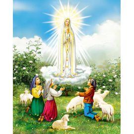 Obrazek 20x25 - Matka Boża Fatimska