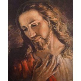 Obrazek 20x25 - Twarz Jezusa