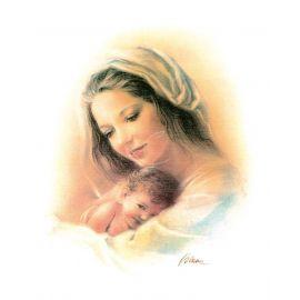 Obrazek 20x25 - Matka Boża z Dzieciątkiem (1)