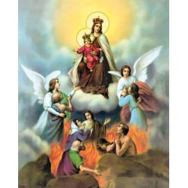 Obrazek 20x25 - Matka Boża Szkaplerzna