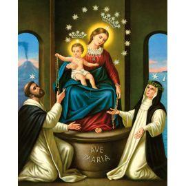Obrazek 20x25 - Matka Boża Pompejańska