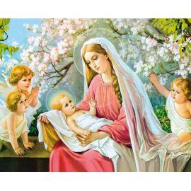 Obrazek 20x25 - Matka Boża z Dzieciątkiem (3)