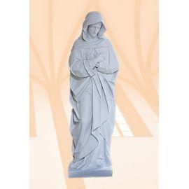 Figura Matka Boża Bolesna biała - 100 cm
