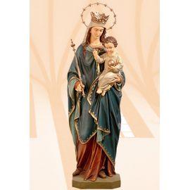 Figura Matka Boża Królowa Świata kolor 140 cm