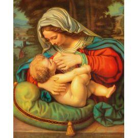 Obrazek 20x25 - Matka Boża Karmiąca