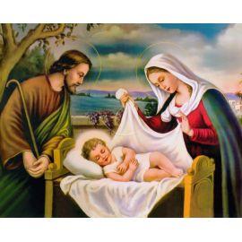 Obrazek 20x25 - Święta Rodzina