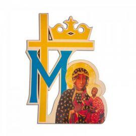 Emblemat na Boże Ciało - Matka Boża Częstochowska