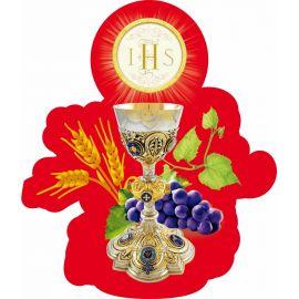 Emblemat na Boże Ciało 35x50 cm - wzór eucharystyczny (10)