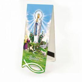 Zakładka Matka Boża z Lourdes