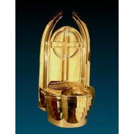 Kropielnica kościelna złocona - 72 cm