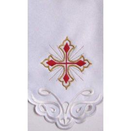 Obrus ołtarzowy haftowany - wzór eucharystyczny (136)