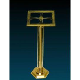 Pulpit mosiężny - 127 cm