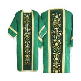 Dalmatyka rzymska żakardowa - kolory liturgiczne