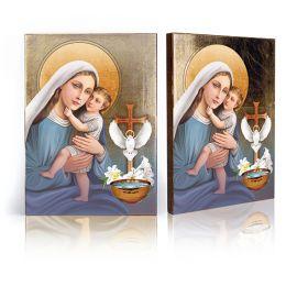 Pamiątka Sakramentu Chrztu Świętego - Ikona Matka Boża z Dzieciątkiem