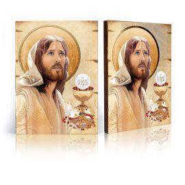 Pamiątka Sakramentu Pierwszej Komunii Świętej - Ikona Jezus Chrystus (2)