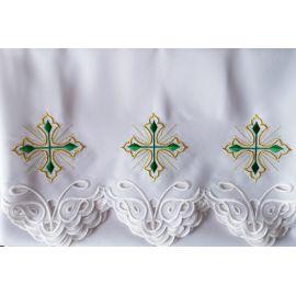 Obrus ołtarzowy haftowany - wzór eucharystyczny (174)